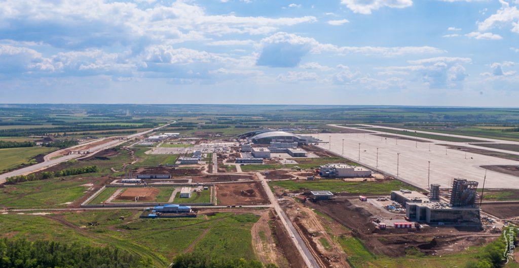 Строительство аэропорта «Платов» 19.06.2017