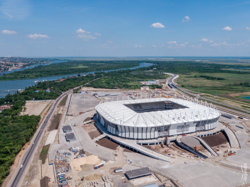 "Стадион ""Ростов-Арена"". Аэросъемка 09.06.2017"