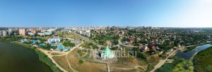 Церковь Сурб Хач в Ростове-на-Дону. Панорама. Код товара: 1