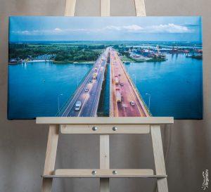 Аксайский мост, открытие, фотокартины