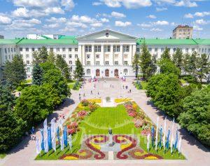 ДГТУ и площадь Гагарина. Код товара: DJI_0014