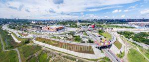 Развязка Мегамаг-Стадион-Батайск-Ростов. Код товара: DJI_0023