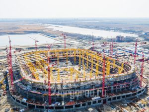 Стадион Арена. Процесс строительства. Код товара: DJI_0044