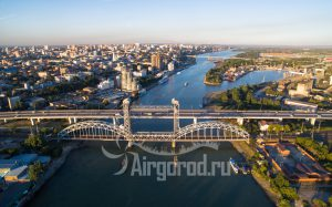 Темерницкий и железнодорожный мосты. Код товара: DJI_0046