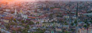 Любимый город. Панорама. Код товара: DJI_0048
