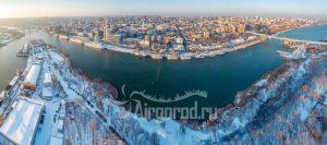Два берега Дона. Зимняя панорама. Код товара: DJI_0051