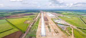 "Аэропорт ""Платов"". Начало строительства. Панорама. Код товара: DJI_0076"