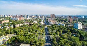 Комсомольский парк с высоты. Панорама. Код товара: DJI_0079
