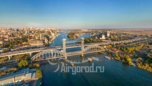 Темерницкий мост с высоты. Код товара: DJI_0088