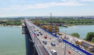 Ворошиловский мост. Открытие левой полосы. Код товара: DJI_0091
