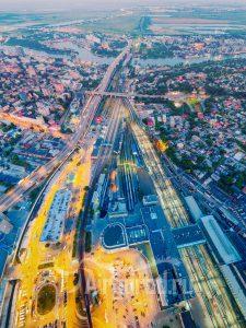 """От вокзалов на юг. Панорама из серии """"Абстракции"""". Код товара: DJI_0142"""