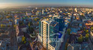 Купеческий двор. Панорама центральных кварталов. Код товара: DJI_0148