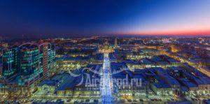 Соборный на закате. Панорама. Код товара: DJI_0155