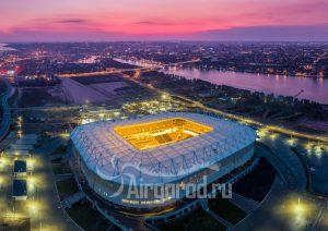 Стадион Арена на закате. Код товара: DJI_0177