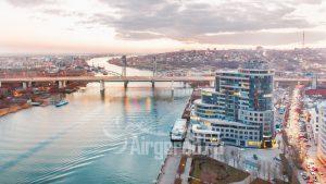 Риверсайд-Дон. Вечерняя панорама города. Код товара: DMZ_1065
