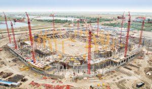 Стадион Арена. Этап строительства. Код товара: DSC08830