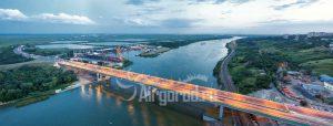 Аксайский мост. Панорама. Код товара: WP8A0399