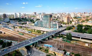 Мост на пр. Стачки. Код товара: WP8A1316