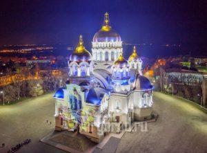 Вознесенский собор, Новочеркасск. Проекция. Код товара: WP8A4081